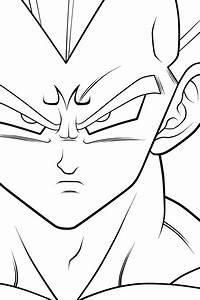 Majin Vegeta - HS. :Lineart: by moxie2D on DeviantArt