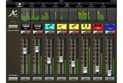 ipad mixing desk app behringer launches xicontrol version 2 0 ipad app for x32