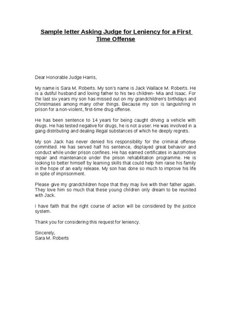 character letter to judge exle exle letter to a judge letter template