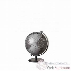 Mini Globe Terrestre : mini globe gagarin argent mat emform dans globe terrestre marin sur art d co marin ~ Teatrodelosmanantiales.com Idées de Décoration