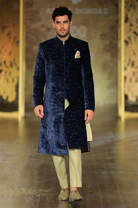 latest mens indian wedding outfits  winter