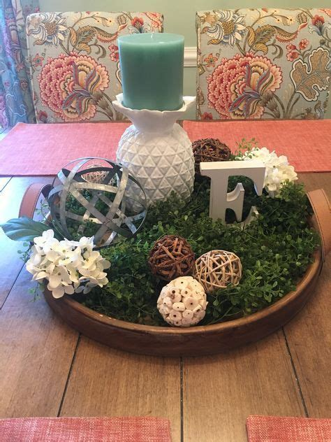I really hope this neutral fall tablescape, pumpkin dough bowl centerpiece, and thanksgiving table setting idea has inspired you. 29 ideas farmhouse table centerpiece center pieces dough bowl#bowl #c… | Table centerpieces for ...
