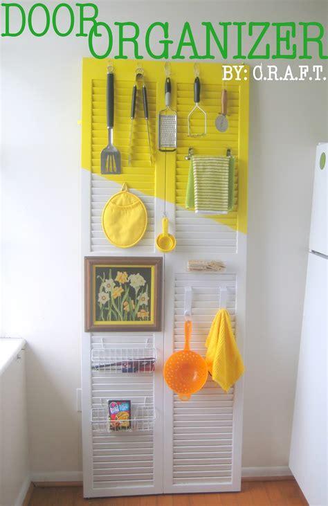 Rental Trick #3 A Door Organizer  Craft