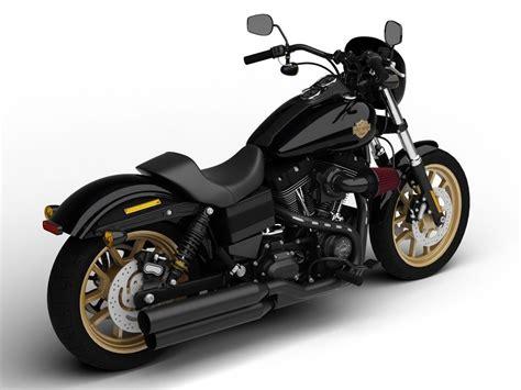 Harley-davidson Fxdl Dyna Low Rider S 2016 3d Model Max