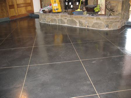 Acid Washed Concrete Floor Nice On Floor Intended Wash