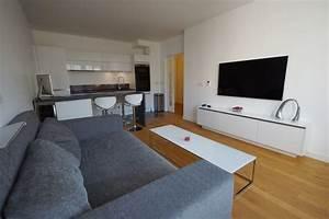 Aménagement D Un Salon : am nagement salon et cuisine puteaux architecte d ~ Zukunftsfamilie.com Idées de Décoration