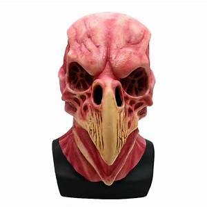 Aliexpress, Com, Buy, Halloween, Horror, Bird, Head, Skeleton, Mask, Latex, Animal, Prop, Adult, Props