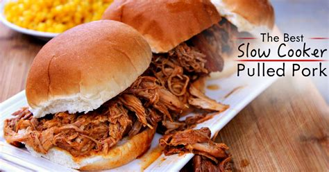 crockpot pulled pork can be just as as the smoked