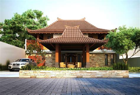 contoh rumah kampung desainrumahidcom