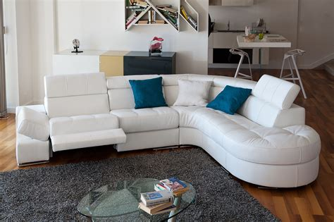Curved Corner Sectional Sofa by Curved Sectional Sofa In Leather Moreno Valley