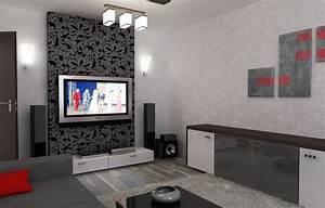 Graue Tapete Schlafzimmer : wohnzimmer tapeten schwarz wei graue tapete wohnzimmer ~ Michelbontemps.com Haus und Dekorationen