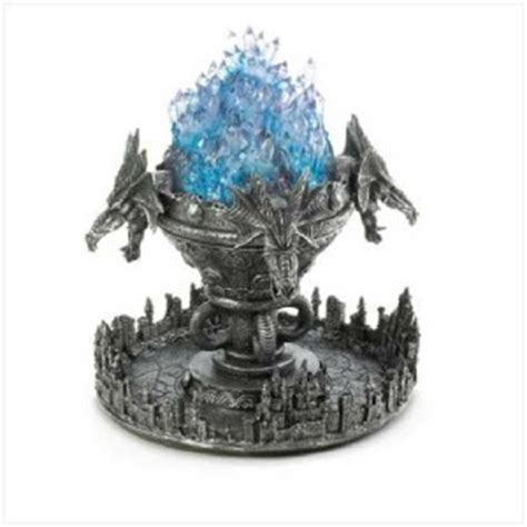perryfamily misting medieval dragon crystal halloween decorations