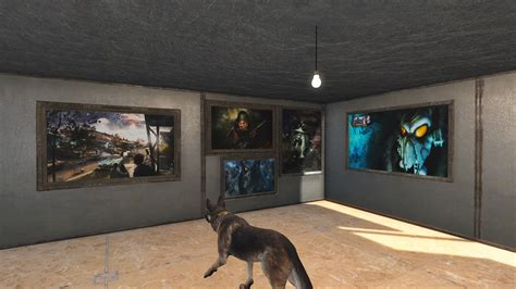 Home Decor Fallout 4 : Fallout Themed Custom Paintings