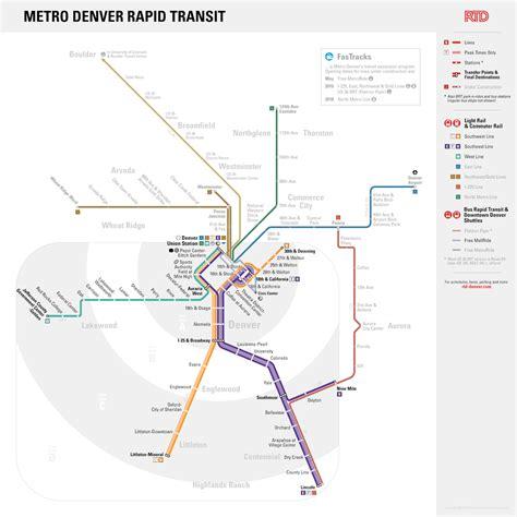 light rail map denver unofficial future map metro denver rapid transit