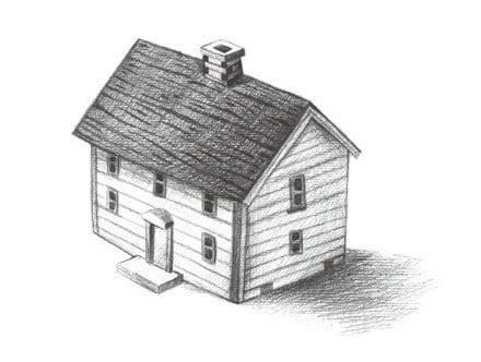 Haus Selber Zeichnen  Anleitung ⋆ Dekoking Diy