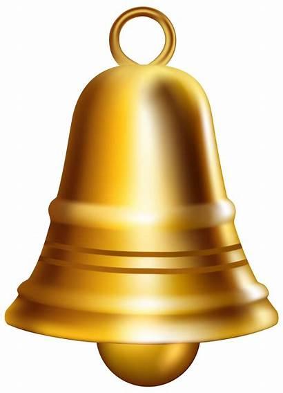 Bell Transparent Golden Clip Clipart Glocke Brass