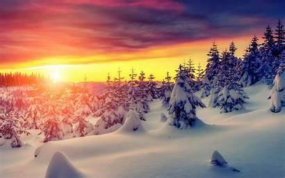 Sunday January Winter Sun St