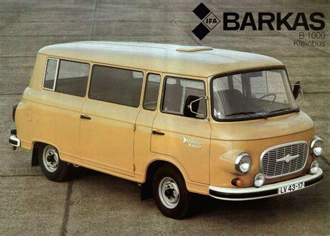 1985 Barkas brochure