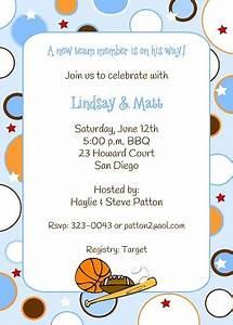sport themed baby shower invitations gangcraftnet With sports baby shower invitations templates