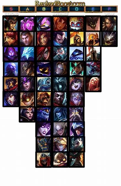 Tier Mid Lane Lol Champions League Legends