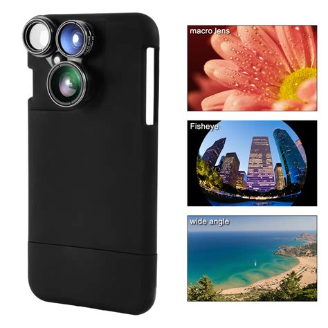 iphone wide angle lens 4in1 fisheye wide angle macro lens for iphone7 2414