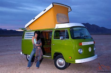 Stunning Original 1979 Volkswagen Type 2 Westfalia Camper