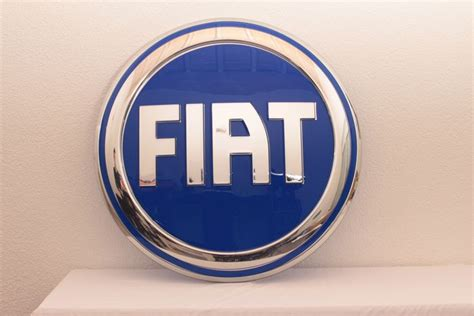 Fiat Sign by Fiat Illuminated Sign Neon Sign Advertising
