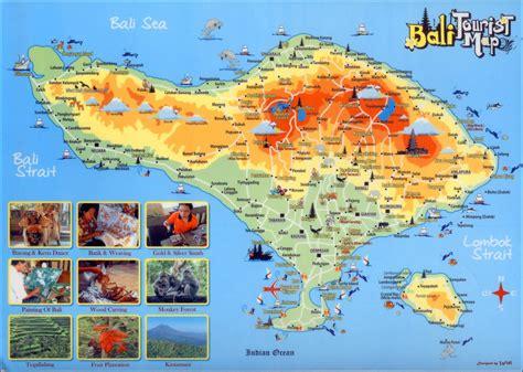 Carte Du Monde Voir Bali by Plan De Bali Voyages Cartes