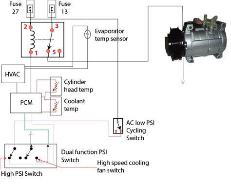Auto Air Conditioner Compressor Wiring Diagram by Ac Hvac Wiring Wiring Diagram