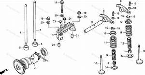 Honda Atv 1998 Oem Parts Diagram For Camshaft