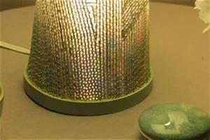 Objet En Carton Facile A Faire : comment faire une lampe en carton dentelle ~ Melissatoandfro.com Idées de Décoration