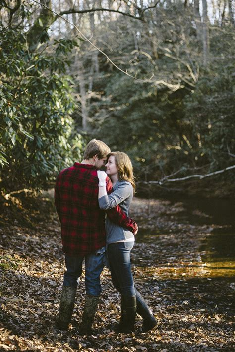 photo fridays  romantic fall forest engagement
