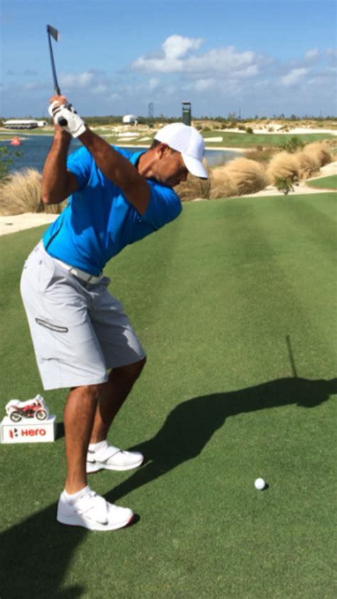 tiger woods swing golf fans are excited about this of tiger