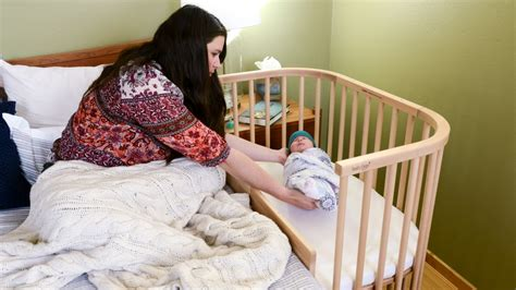 Half Crib That Attaches To Bed by Babybay Bedside Sleeper Review Babygearlab