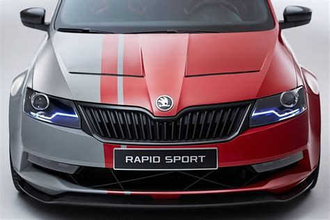 2013 Skoda Rapid Sport Concept - dynamism and sportiness ...