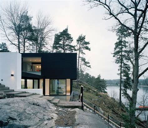 Hillside House Plan Makes Contemporary Look Earthy