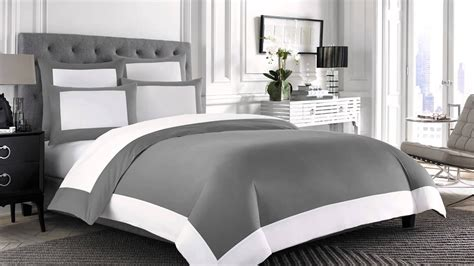 Wamsutta Hotel Microcotton Reversible Duvet Cover At Bed