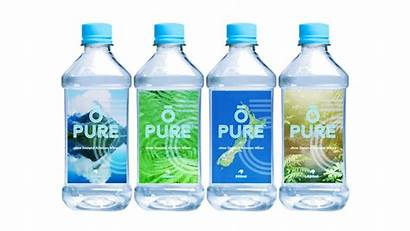 Pure Water Bottled Zealand Sparkling 500ml 250ml