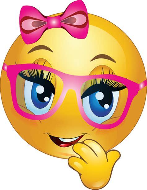 girl smiley emoticons simbolos emoji emoticons