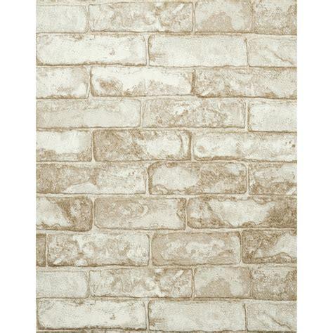 modern rustic weathered brick wallpaper slate gray