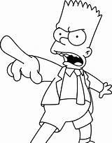 Simpson Bart Coloring Pages Simpsons Drawings Drawing Cartoon Homer Colorear Para Printable Sketches Books Enojado Painting Burns Mr Paginas Sketch sketch template