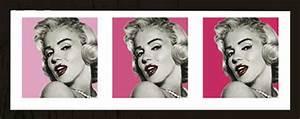 Marilyn Monroe Maße : marilyn monroe triptychon kunstdruck 95x33 ~ Orissabook.com Haus und Dekorationen