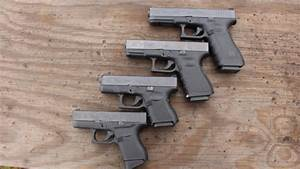 Size comparison of the Glock 43 to the 26,19 and 17 models ...