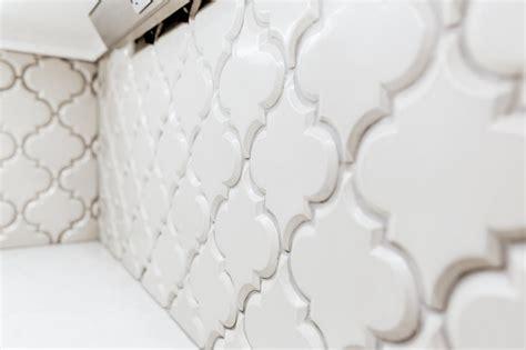 beveled arabesque tile beveled arabesque ceramic tiles in vento grey farmhouse