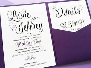 wedding invitations purple wedding invitations purple with With wedding invitation templates violet