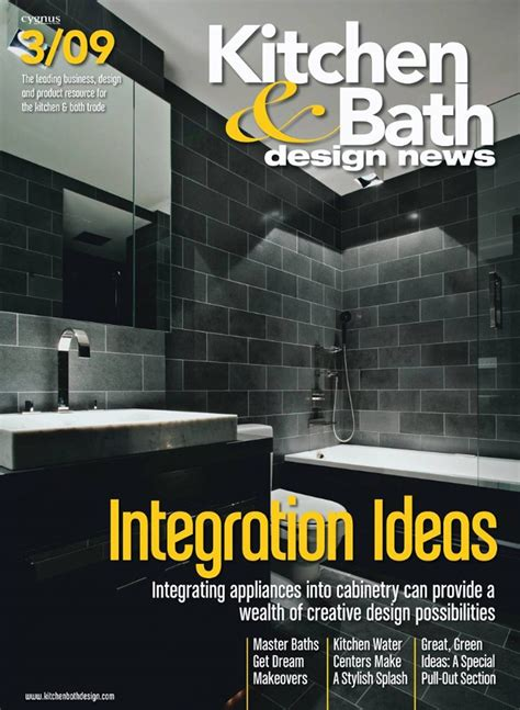 kitchen and bath design magazine free kitchen bath design news magazine the green 7651