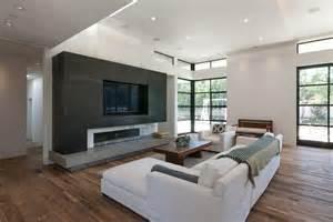 Modern Tile Fireplace Surrounds
