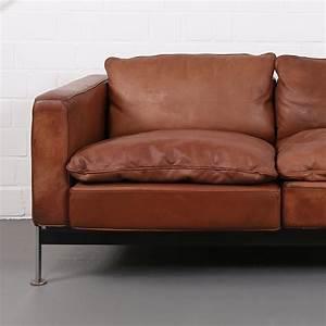 Ledersofa Cognac Vintage : robert haussmann de sede rh 302 leather sofa dekaden ~ Frokenaadalensverden.com Haus und Dekorationen