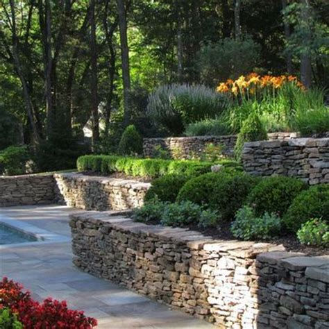 tiered backyard landscaping ideas tiered landscape for uneven yard landscaping pinterest tiered landscape design and backyards