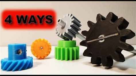 printed   ways   connect gears test gears  lets print pinshape